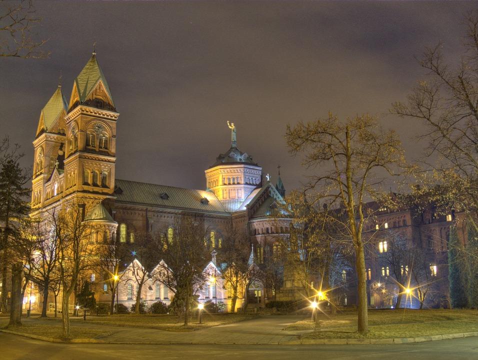 Kathedrale Kirche von Christus der K├Ânig in Katowice